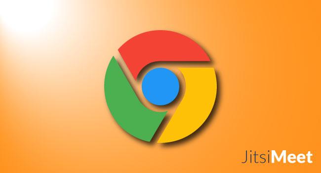 Problemi in Google Chrome con Jitsi Meet