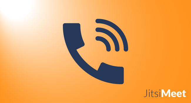 Come collegarsi per telefono a una conferenza Jitsi Meet